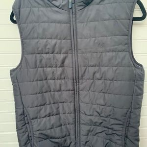 NWT Chaps Combat Grey Vest Size Small